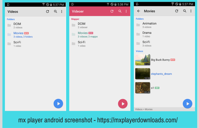 mx player android screenshot