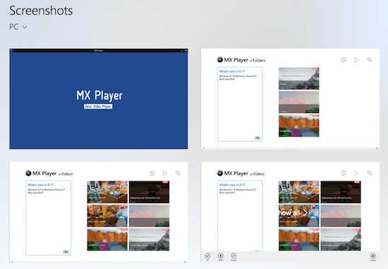 Download MX Player For PC/Laptop Windows 10/7/8 1/8/XP {*}