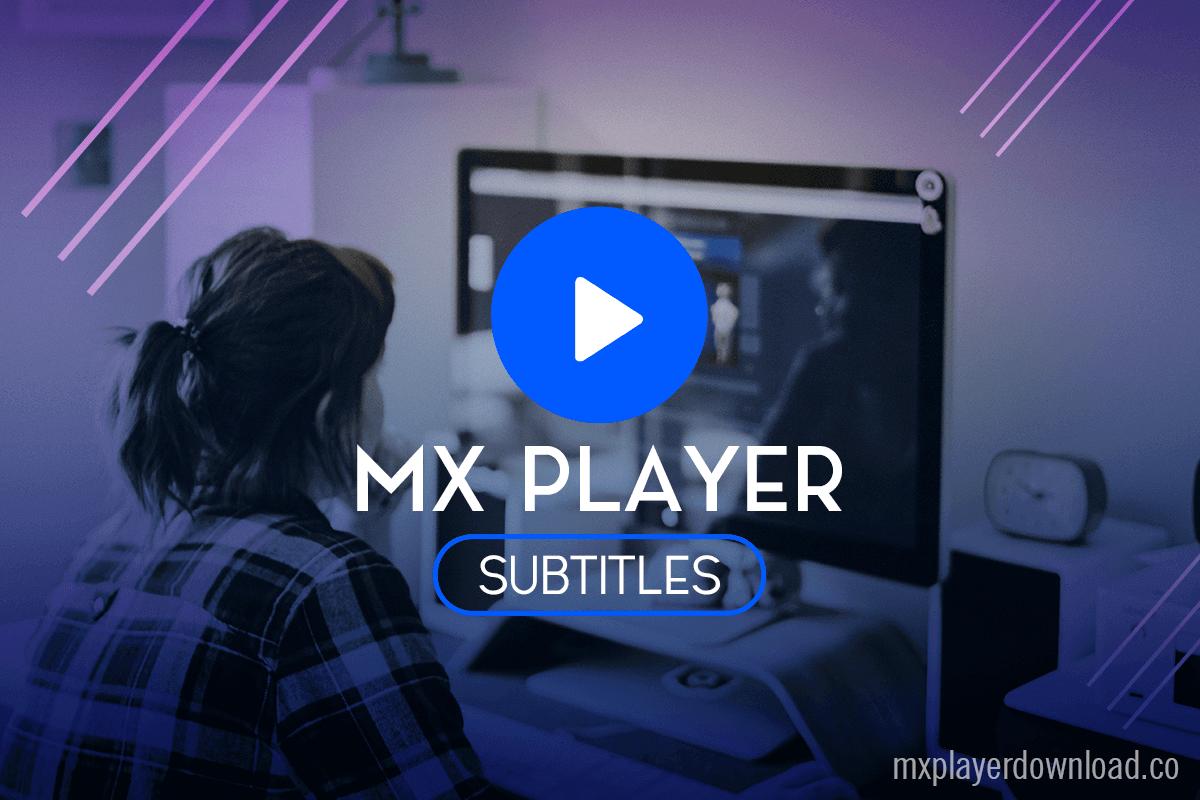 mxplayer subtitles